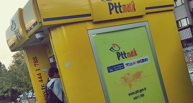 PTT TC ile Para Çekme
