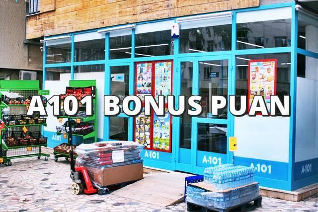 A101 de bonus puan geçiyor mu
