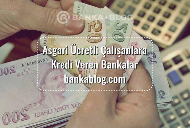 asgari ücrete kredi