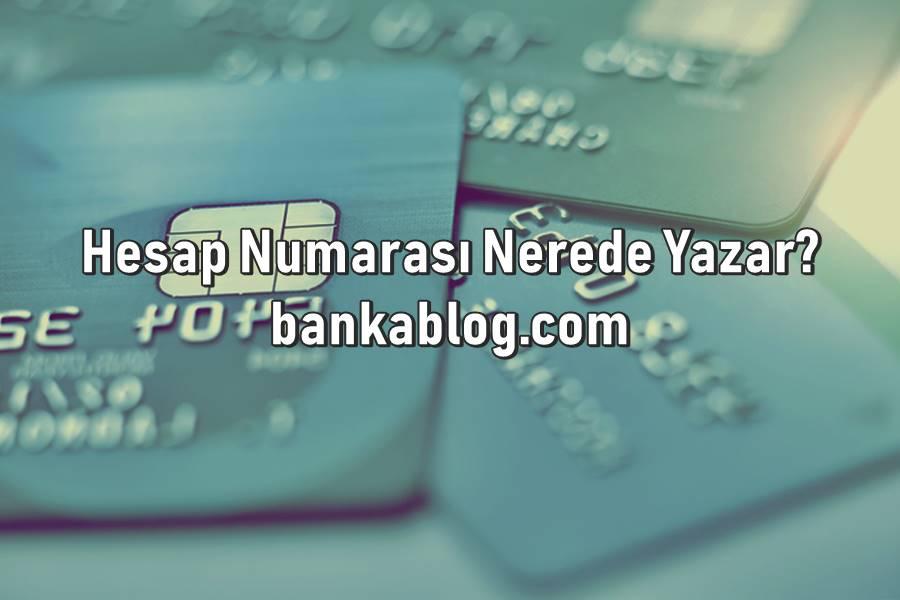 Banka Kartında Hesap Numarası Nerede Yazar? • Banka Blog