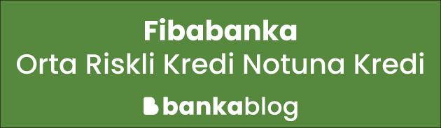 orta riskli kredi notuna kredi