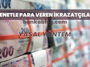 senetle para veren ikrazatçılar