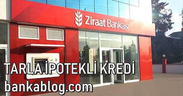 Ziraat Bankası Tarla ipotekli Kredi