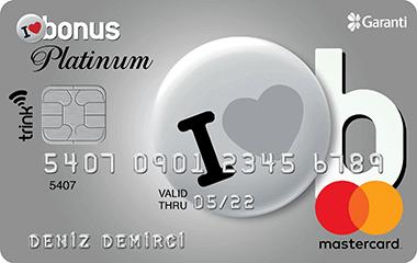 yüksek limitli bonus kart