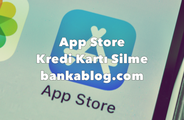 App Store kredi kartı silme