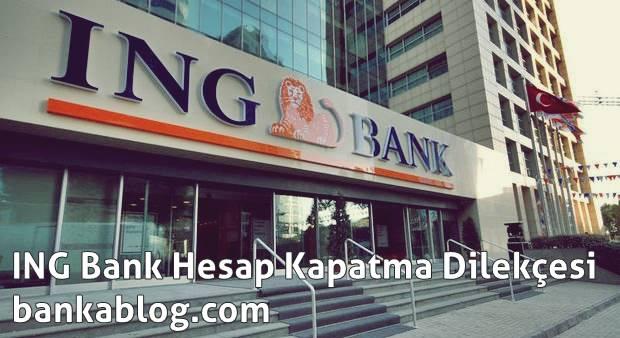 ING Bank Turuncu Hesap Kapatma