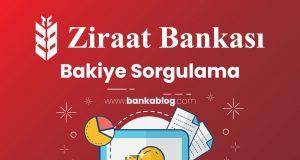 Ziraat Bankası Bakiye Sorgulama