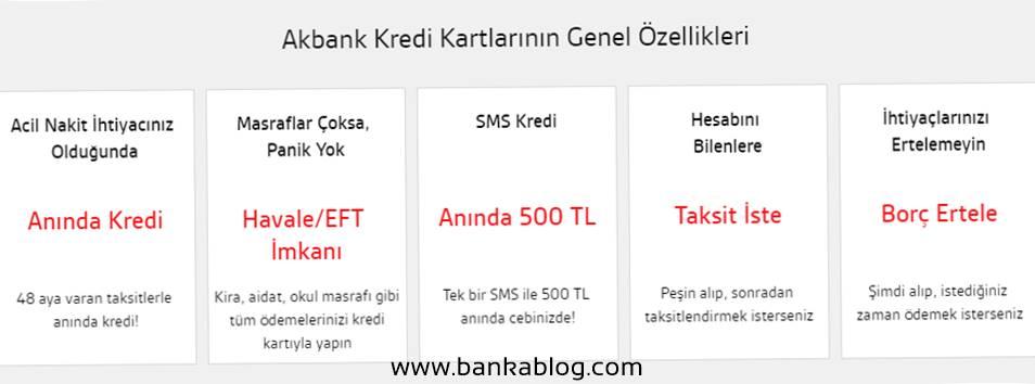 Akbank Kart Başvurusu