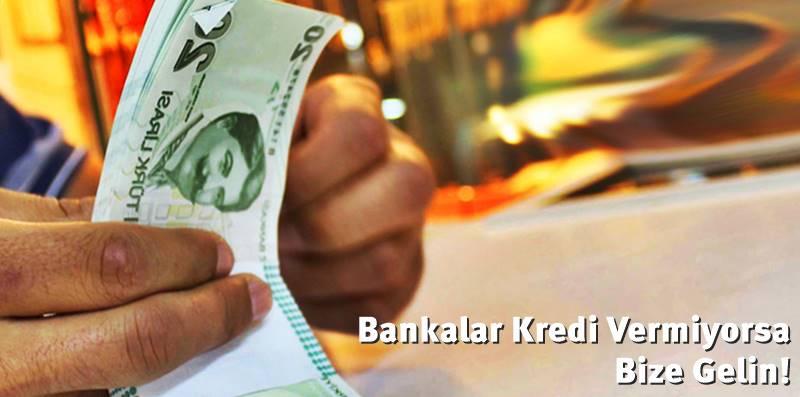 bankalar kredi vermiyor, ne yapmalıyım?