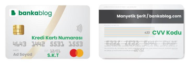 kredi kartı numarası kaç hanelidir