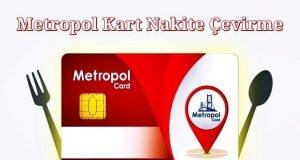 Metropol Kart Nakite Çevirme